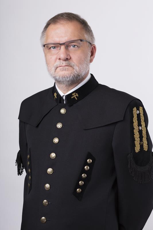 Zdjęcie Prezesa WUG dr. inż. Adam Mirek