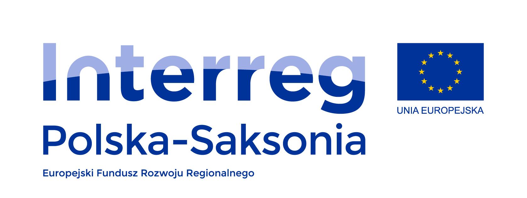 Logotyp Programu Współpracy INTERREG Polska-Saksonia 2014-2020